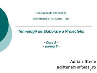 Adrian Iftene  adiftene @infoiasi.ro