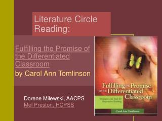 Literature Circle Reading: