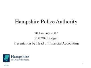 Hampshire Police Authority