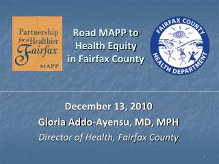 Road MAPP to  Health Equity  in Fairfax County