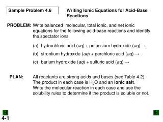 Sample Problem 4.6