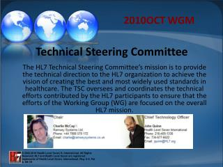 Technical Steering Committee
