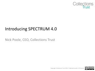 Introducing SPECTRUM 4.0