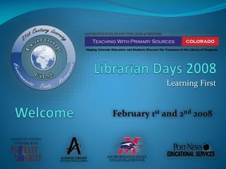 Librarian Days 2008