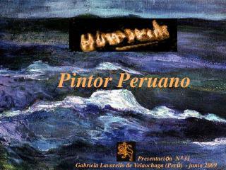 Pintor Peruano