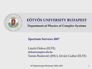 Spectrum Services  2007