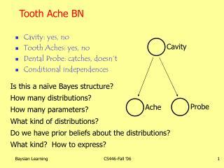 Tooth Ache BN