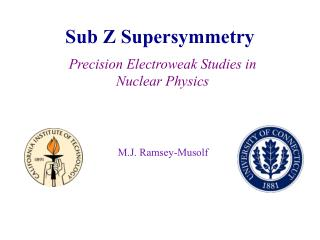 Sub Z Supersymmetry