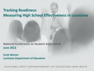 LOUISIANA STATE SUPERINTENDENT OF EDUCATION JOHN WHITE