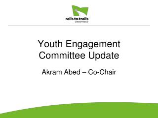 Youth Engagement Committee Update