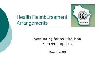 Health Reimbursement Arrangements