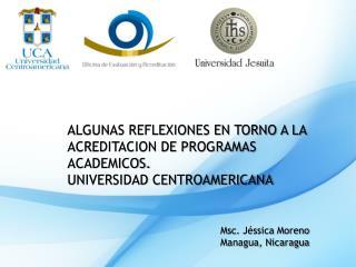 Msc .  Jéssica  Moreno Managua, Nicaragua