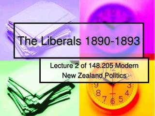 The Liberals 1890-1893