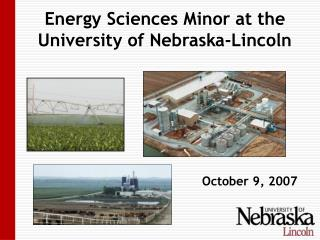 Energy Sciences Minor at the University of Nebraska-Lincoln