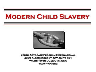 Youth Advocate Program International 4000  Albermarle  St.  NW, Suite 401