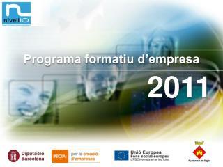 Programa formatiu d'empresa