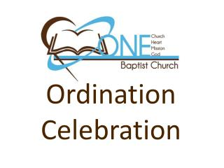 Ordination Celebration