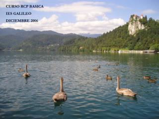 CURSO RCP BASICA IES GALILEO DICIEMBRE 2006