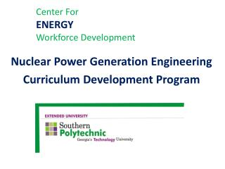 Center For         ENERGY Workforce Development