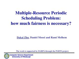 Multiple-Resource Periodic Scheduling Problem:  how much fairness is necessary?