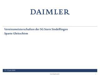 Vereinsmeisterschaften der SG Stern Sindelfingen Sparte Gleitschirm