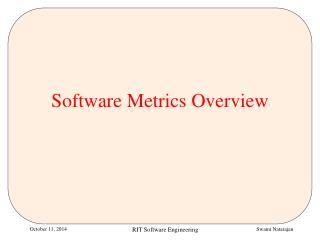 Software Metrics Overview