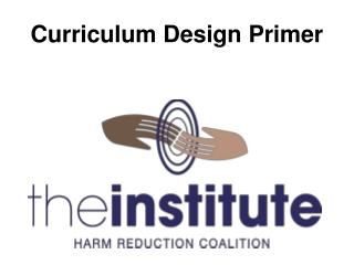 Curriculum Design Primer