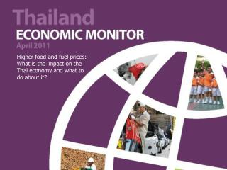 Higher food and fuel prices: What is the impact on the Thai economy and what to do about it?