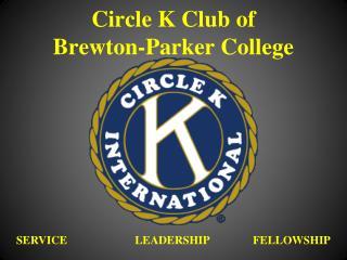 Circle K Club of  Brewton-Parker College