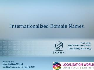 Internationalized Domain Names