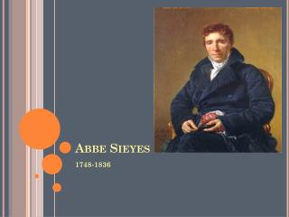 Abbe Sieyes