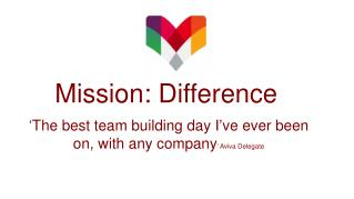 Mission: Difference