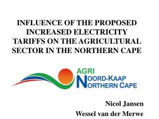 Nicol Jansen  Wessel van der Merwe