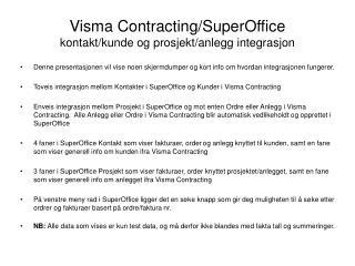 Visma Contracting