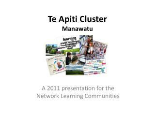 Te Apiti  Cluster Manawatu