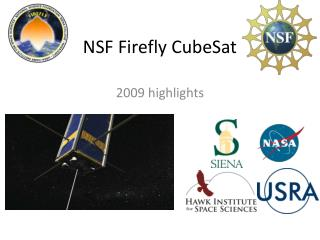 NSF Firefly CubeSat