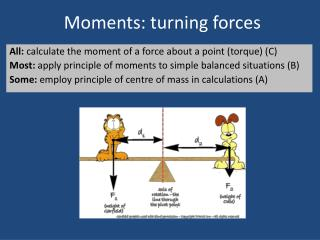 Moments: turning forces