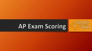 AP Exam Scoring