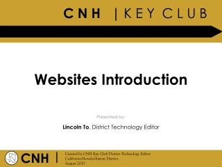 Websites Introduction