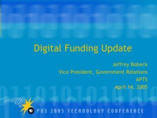 Digital Funding Update