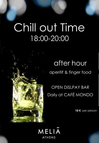 Chill out Time 18:00-20:00