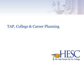 TAP, College & Career Planning