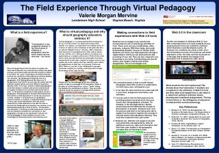 What is virtual pedagogy and why should geography educators embrace it?