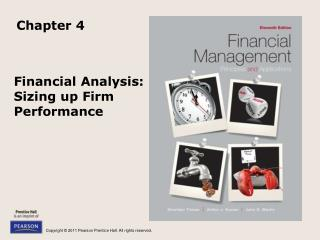 Financial Analysis: Sizing up Firm Performance