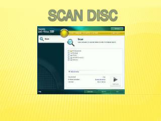 SCAN DISC