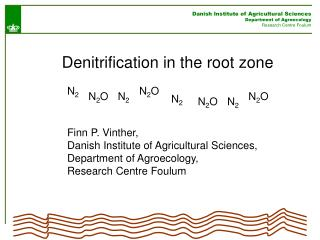 Danish Institute of Agricultural Sciences Department of Agroecology Research Centre Foulum