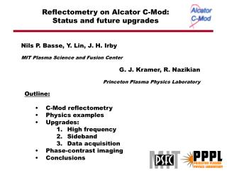 Reflectometry on Alcator C-Mod: Status and future upgrades