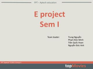 FPT �  Aptech  education