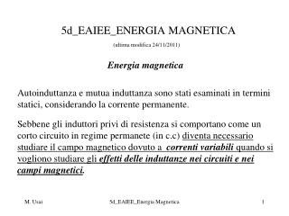 5d_EAIEE_ENERGIA MAGNETICA (ultima modifica 24/11/2011)