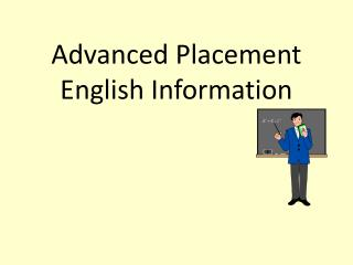 Advanced Placement English Information